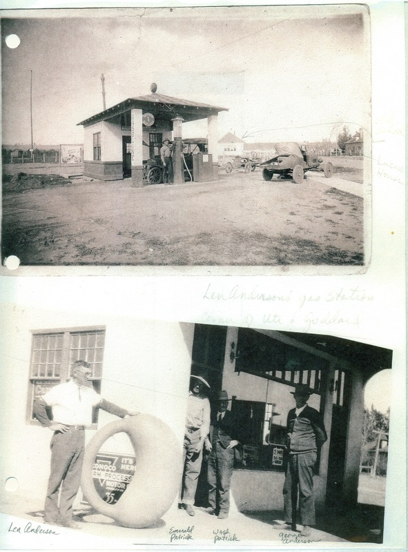 Lee Anderson's Gas Station