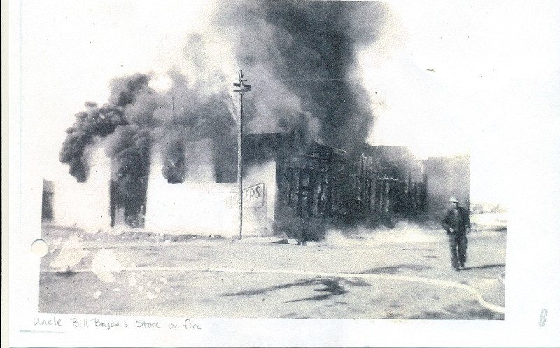 Bryan and Wyat Stores on Fire